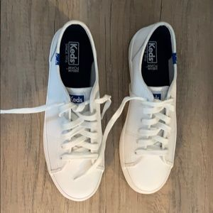 Women's Keds white tennis shoes